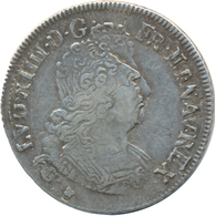 Frankreich: Louis XIV. 1643-1715: 1/4 Ecu 1702; 6,52 G, Fast Sehr Schön. - 1789-1795 Franz. Revolution