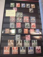 Sammlung Deutsches Reich Aus 1933-1941 Gestempelt 556/64, 588/97 WHW Pferd (892) - Deutschland