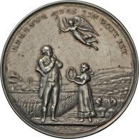 Medaillen Deutschland: Nürnberg: Silberne Steckmedaille 1817 Von J.T. Stettner, Auf Die überstandene - Germany