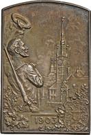 Medaillen Deutschland: Olmütz (Olomouc): Franz Joseph I. 1848-1916: Ag Plakette 1903 Auf Das IX. Mäh - Germany