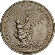 Medaillen Deutschland: Silbermedaille O. J., Von Christian Mahler, Auf Liebe Und Ehe, Slg. Goppel 10 - Germany