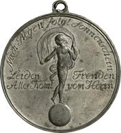 Medaillen Deutschland: Württemberg, Wilhelm I. 1816-1864: Lot 2 Stück; Tragbare Zinnmedaille 1817 Au - Germany