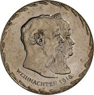 Medaillen Deutschland - Personen: Bayern, Ludwig III. 1913-1918: Medaille 1918 Von Alois Börsch Auf - Germany