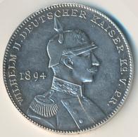 Medaillen Deutschland - Personen: Brandenburg-Preußen,Wilhelm II. 1888-1918: Silbermedaille 1894, Vo - Germany