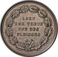 Medaillen Deutschland - Geographisch: Bayern: Lot 2 Silbermedaillen, Preismedaillen Des Landwirtscha - Germany