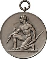 Medaillen Deutschland - Geographisch: Isny: Lot 2 Stück; Silbermedaille 1910 Von Mayer & Wilhelm, Au - Germany