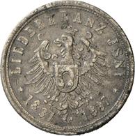 Medaillen Deutschland - Geographisch: Isny: Zinnmedaille 1887 Auf Das 50. Jährige Jubiläum Des Liede - Germany