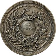 Medaillen Deutschland - Geographisch: München:Versilberte Bronze-Hohlgußmedaille 1876, Von Wagmüller - Germany
