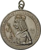 Medaillen Deutschland - Geographisch: Stuttgart: Silberne Gußmedaille 1886, Modell Von A. Schwerdt, - Germany
