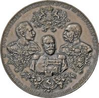 Medaillen Deutschland - Geographisch: Stuttgart: Zinnmedaille 1896, Signiert H. Dürrich/K. Schäfer, - Germany