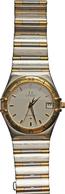 Uhren: Omega Constellation Herren Armbanduhr SWISS MADE. Ref. 1312.30.00, Stahl - Gelbgold Mit Stahl - Jewels & Clocks