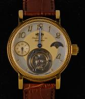 Uhren: 2 Herrenarmbanduhren Der Firma Lindberg Und Sons: T23238-198 Tourbillon; T23233-197 Tourbillo - Jewels & Clocks
