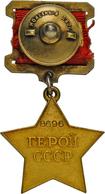 """Orden & Ehrenzeichen: Russland: Sammlung Sowjetische Orden, Medaillen Und Abzeichen """"Polnyj Kavaler"""" - Münzen"""