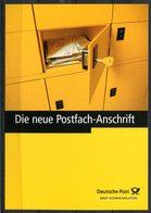 """Germany 2001 Ganzsache/Pluskarte Deutsche Post AG Mi.PEK 9""""Postfach-Mitteilungskarte """"1 GS Blanko - Post"""