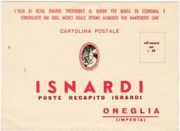 6545 IMPERIA ONEGLIA ISNARDI OLIO DI OLIVA - Reclame