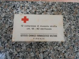 MATERIALE PRONTO SOCCORSO CORPO DI SANITA' BENDAGGI MUSSOLA IDROFILA - Equipaggiamento