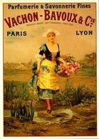 Publicité  - Parfumerie & Savonnerie Fines - Vachon Bavoux - 1889 - Repro - SC73-1 - Advertising