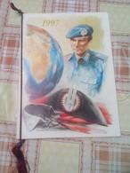 CALENDARIO ARMA DEI CARABINIERI 1997 CON CORDINO ORIGINALE - CALENDAR **** - Big : 1991-00