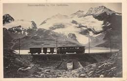 CPA  Suisse, BERNINA Bahn U, Piz Cambrena, Carte Photo - GR Grisons
