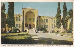 "HAIFA, ""TECHNION"", ISRAEL INSTITUTE OF TECHNOLOGY. ED PALPHOT. CIRCULEE TO BUENOS AIRES, ARG.-BLEUP - Israël"