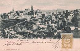 PALESTINE - BETHLEEM - EMPIRE OTTOMAN - TIMBRE TURC - CARTE POUR LA FRANCE. - Palestine