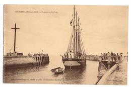 14 CALVADOS - COURSEULLES SUR MER Entrée Du Port - Courseulles-sur-Mer