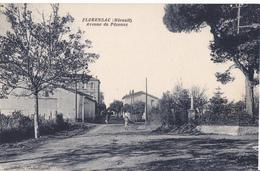 FLORENSAC -  AVENUE DE PEZENAS - Frankrijk