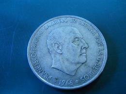 100 PESETAS 1966  (67) -   -  SILVER - [ 5] 1949-… : Kingdom