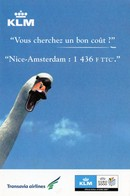 CPM - M - AVIATION - KLM ET TRANSAVIA AIRLINES AU DEPART DE NICE - Aviation