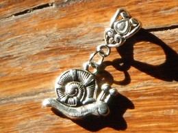 Escargot Pendentif Métal - Bijoux & Horlogerie