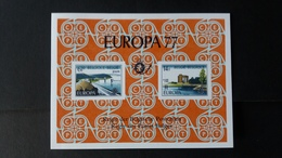 Europa: Feuillet De Luxe Année 1977 Numéro LX66 - Libretti Di Lusso
