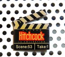 Pin's Officiel De La Collection Des Films D'Alfred Hitchcock : Le Clap - Cinéma