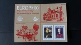 Europa: Feuillet De Luxe Année 1980 Numéro LX69 - Luxevelletjes