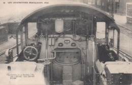 96 - Les Locomotives Françaises (Est) - Vue D'arrière De La Machine Pacific 231-031 Série 231-011 231-050 - Matériel