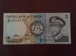 LESOTHO 2 MALOTI UNC - Lesotho