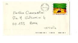 MK591 - FRANCIA 2007 , Lettera Per L'Italia . De Stael - Storia Postale