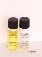 4 échantillons Parfum Tubes De CORYSE SALOMÉ MING - Perfume Samples (testers)