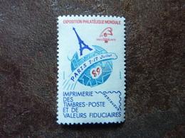 1989 Vignette Officielle Postale Philexfrance 89 ** MNH - Neufs