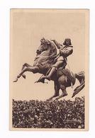 Rare CP Statue équestre En Bronze De Jeanne D'Arc Par Armand Le Véel (1821-1905), Orléans (Loiret), 1899. A Voyagé - Histoire