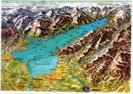 Carta Geografica Lago Di Garda. NV. - Carte Geografiche
