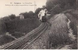 52 LANGRES -- La Crémaillère + Train à Vapeur - Langres
