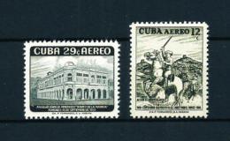 Cuba  Nº Yvert  A-179-181  En Nuevo - Poste Aérienne