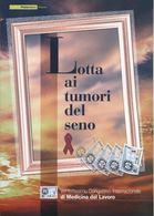 """2006 Italia, Folder  """" Lotta Ai Tumori Del Seno """"  Al Prezzo Di Copertina - 1946-.. République"""