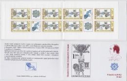 Carnet 2004 De 8 Timbres + 4 Coupons YT C 357 Tradition Timbre Gravé / Booklet Michel MH 113 (386) - Tchéquie