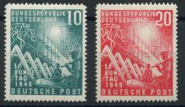 Allemagne Federale (1949) N 1 A 2 (charniere) - Neufs