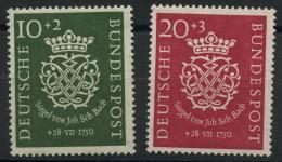 Allemagne Federale (1950) N 7 A 8 (charniere) - [7] République Fédérale