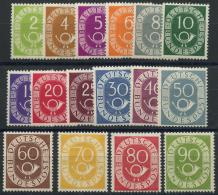 Allemagne Federale (1951) N 9 A 24 (charniere) - Neufs