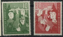 Allemagne Federale (1952) N 39 A 40 (Luxe) - [7] République Fédérale