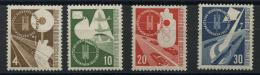 Allemagne Federale (1953) N 53 A 56 (Luxe) - Neufs