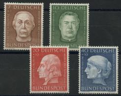 Allemagne Federale (1954) N 76 A 79 (Luxe) - [7] République Fédérale